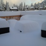 Snowmageddon in Canmore!