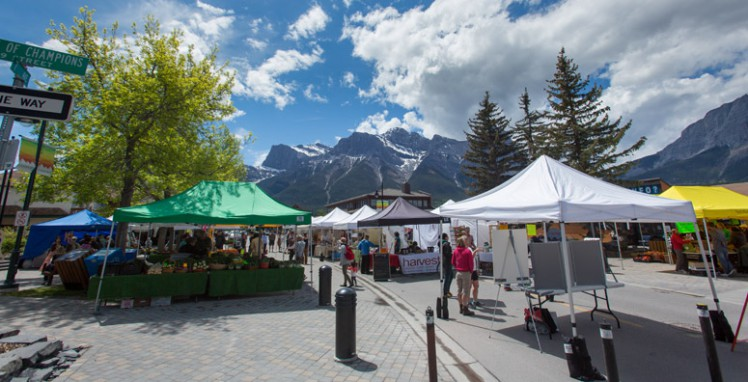 Canmore farmers market