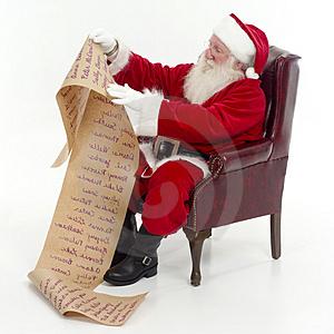 Santa Claus. Who's Naughty, Who's Nice?