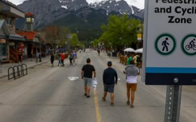 Free parking in Canmore for 2021